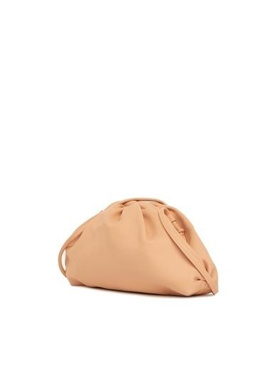 Bagmori Kadın Burslu Küçük Bohça Çanta M000004078 Pudra